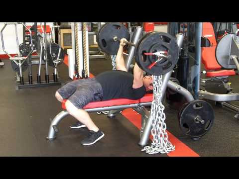 Bench Press with Chains 365 x 5