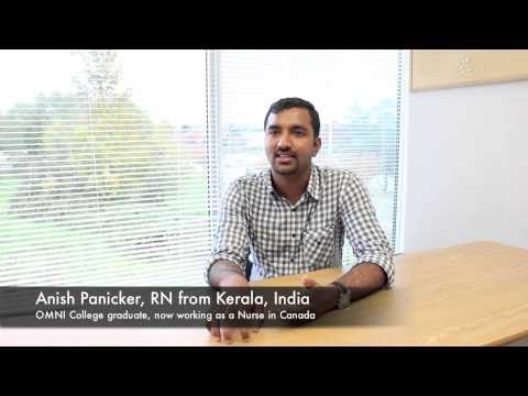 Anish - IEN from Kerala, India, now an Nurse in Canada (spoken in Malayalum)
