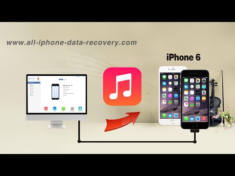 How to Copy Music from Computer to iPhone 6/6 Plus without iTunes, Songs to iPhone 6S/6S Plus