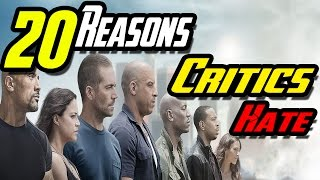 20 Reasons Why Critics Hate Furious 7