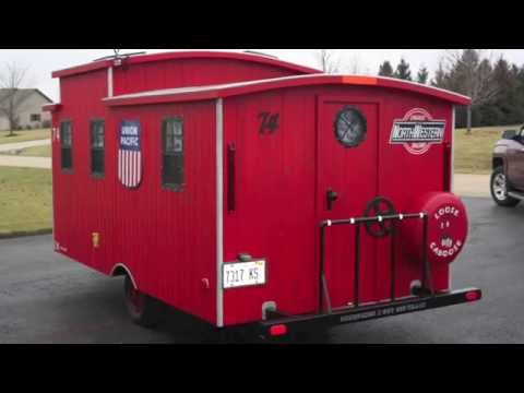 Glenn's DIY Loose Caboose Micro Camping Cabin