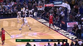 2nd Quarter, One Box Video: New Orleans Pelicans vs. Milwaukee Bucks