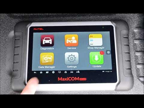 Autel MaxiCOM MK808 Professional OBDII Diagnostic Scan Tool Review