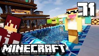 JONO PUNYA KOLAM RENANG KEREN !! - Minecraft Survival Indonesia #71