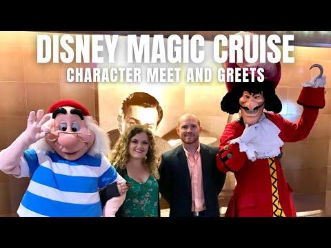 Disney Magic Cruise: Character Meet & Greets!
