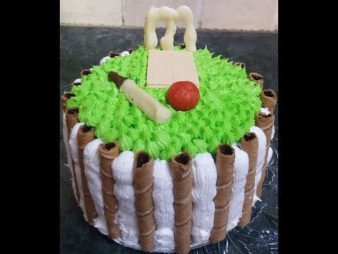 Cake for cricket lovers| Eggless