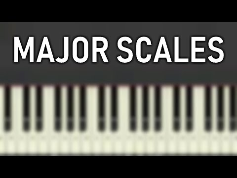♬ Learn your MAJOR SCALES PIANO/VOCAL EXERCISE in ALL 12 KEYS (SLOW)  - By Soulphonic ♬