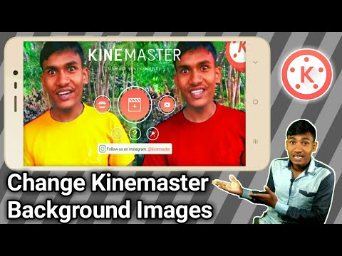 How to Change Kinemaster Background Images? How to Customize Kinemaster with apk editor?