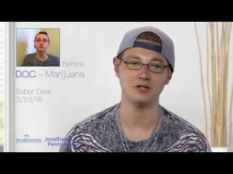 Jonathan Kicked His Addiction Before it Grew Bigger Testimonial - Palm Partners Review 888-508-7072