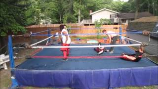 7th Annual Backyard Rumble Battle Royal Match 5 17 15