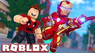 Simulador Do Homem De Ferro No Roblox Iron Man Battles - roblox viramos o homem de ferro iron man battles