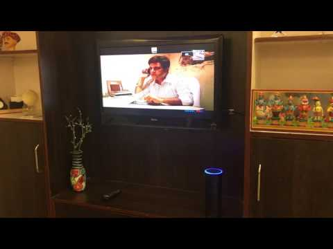 Now Alexa Echo can Control your TV with Silvan Voice Home Automation Solution