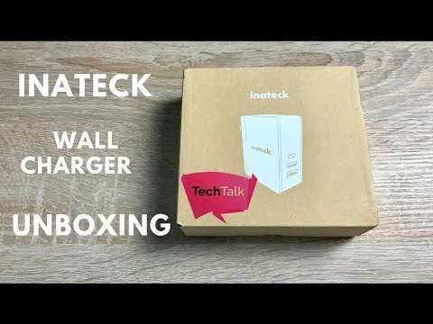 Inateck 3 Port Wall Charger Unboxing
