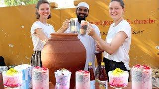 Amazing Falooda Recipe ||Lassi Recipe || summer health drinks for orphans || Nawabs kitchen
