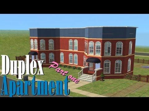 Sims 2   House Build - Duplex Apartment [Part 1]
