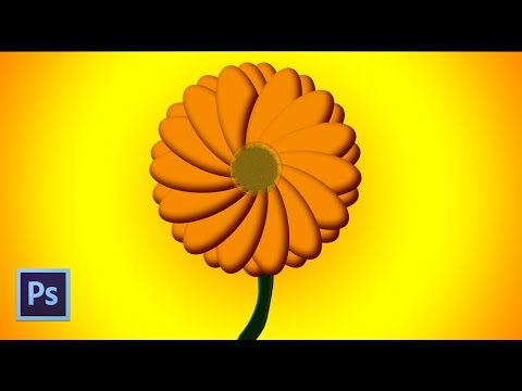 Create flower animation and save picture Gif in photoshop cs6 tutorials | Daneil Designer