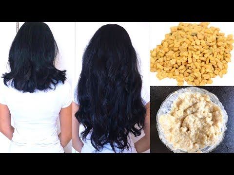 Hair Mask To Double Your Hair Growth In Just 1 Month | Fenugreek Hair Mask For Long & Strong  Hair