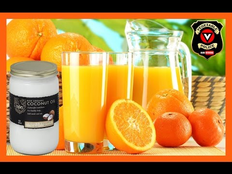 Does fat cause insulin resistance? Blood sugar test with orange juice and coconut oil!