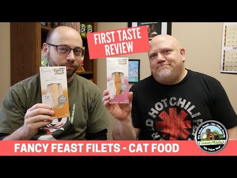 What Does Cat Food Taste Like? Fancy Feast Filets Review - Two Bald Guys Eat Stuff