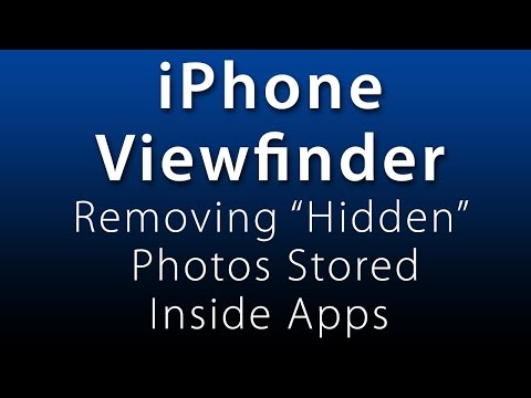 iPhone Viewfinder: Removing
