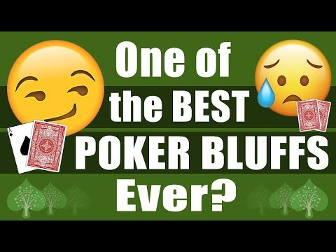 One of the Best POKER BLUFFS Ever? Hand of the Day
