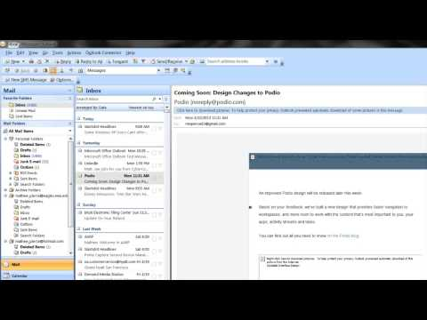 How to Set Up a V-Card on Outlook : MS Outlook Tips & Tricks