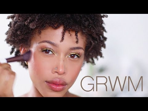 GRWM: Night Out - Hair + Makeup