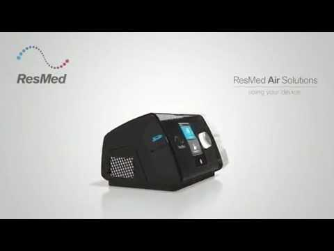 ResMed AirSense 10 - User Instructions