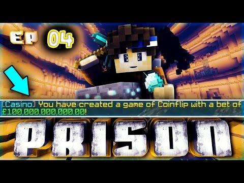 Minecraft OP Prison Ep.4 BETTING 100 BILLION!?! [CycloneNetwork]