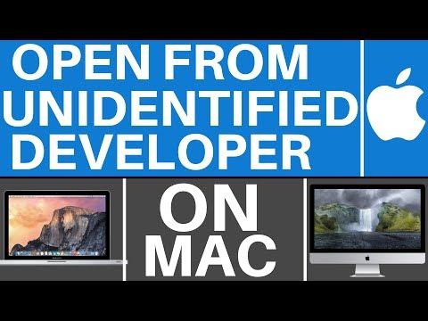 Mac OS Sierra: Open Apps From Unidentified Developers