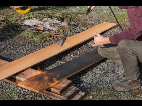 FTF #41 Burnt Wood Siding Technique, How To