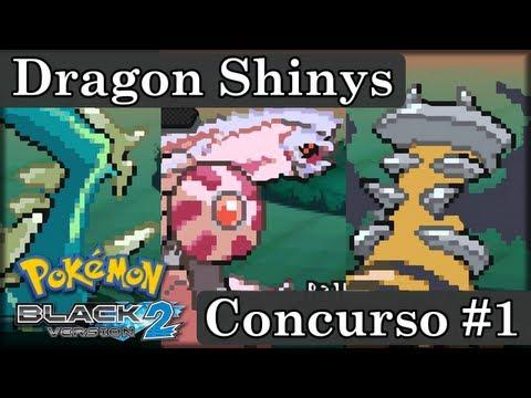 Concurso N°1 - Consigue a Dialga, Palkia & Giratina Shiny en Pokémon Black / White