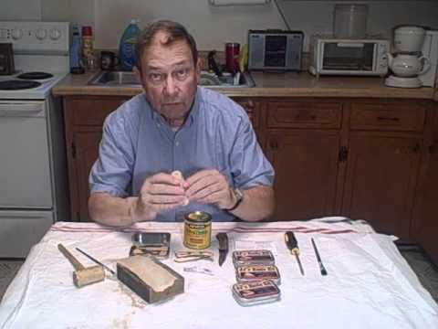Jameson's JJ Wooden Knife Kits.