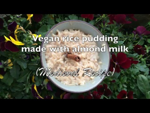 How to make Vegan Rice Pudding with Almond Milk