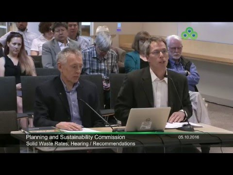 Planning and Sustainability Commission Meeting May 10th, 2016