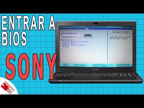 Entrar en BIOS Sony Vaio SVE14124CLB