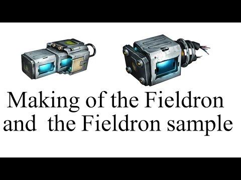 Making of Warframe Fieldron & Fieldron sample