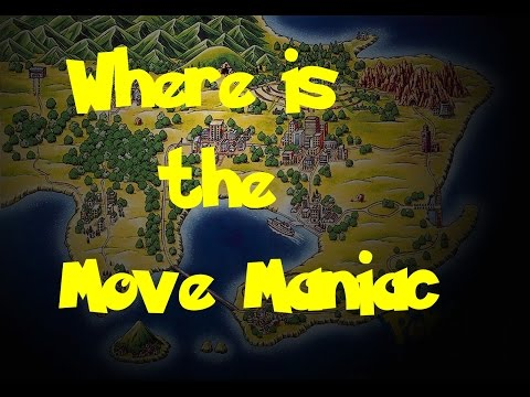 Where Is: The Move Maniac (Pokemon Fire Red/Leaf Green)