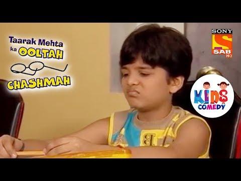 Tapu Is Tired Of Finishing His Homework | Tapu Sena Special | Taarak Mehta Ka Ooltah Chashmah