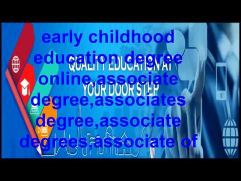12 Early childhood education degree online