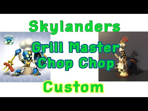 Grill Master Chop Chop Skylanders Lost Islands Custom