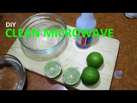 Removing Odors from the Microwave NATURALLY