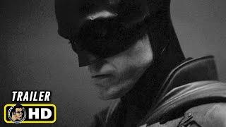 THE BATMAN (2021) Robert Pattinson Batsuit Reveal [HD] Black & White Version