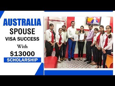 Australia Spouse Visa with $13000 Scholarship