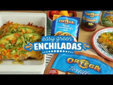 Easy Green Enchilada Recipe | Add a Little Ortega