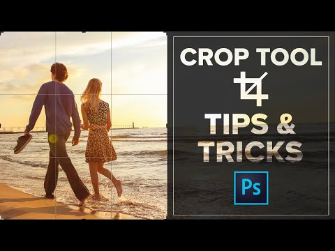 Photoshop Crop Tool Tips and Tricks - Crop Images like a Pro
