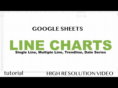 Google Sheets Line Charts, Graph with Multiple Lines, Trendline, Date Series, Average Line & More