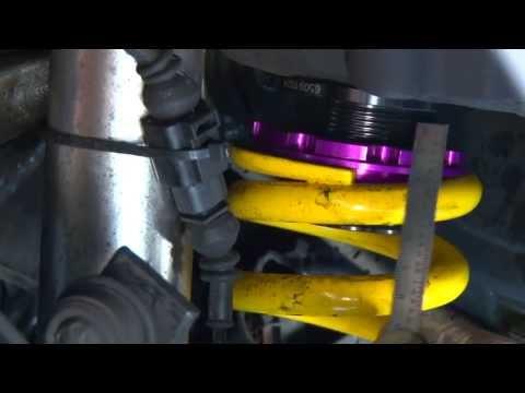How to adjust ride height & corner balance your car - KW Suspension DDC - Technik
