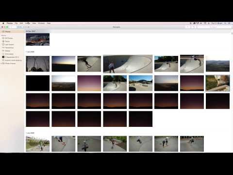 How to change Time and date of photos on Apple Photos. Yosemite.