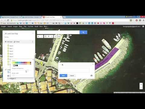 Google Maps: Land use map